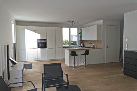 Wohnraum mit offener Wüche